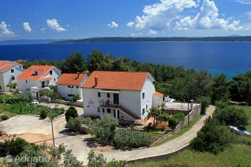 Property Zavala (Hvar) - Accommodation 8745 - Apartments near sea with pebble beach.
