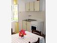Jelsa, Kitchen u smještaju tipa apartment, dostupna klima, dopusteni kucni ljubimci i WIFI.
