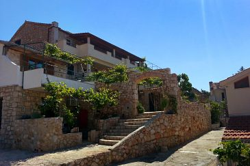 Property Ivan Dolac (Hvar) - Accommodation 8753 - Apartments with pebble beach.