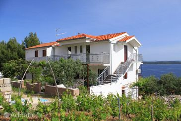 Property Zavala (Hvar) - Accommodation 8773 - Apartments with pebble beach.