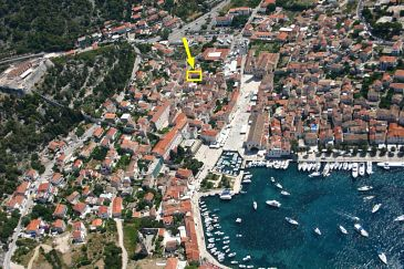 Property Hvar (Hvar) - Accommodation 8786 - Apartments with pebble beach.