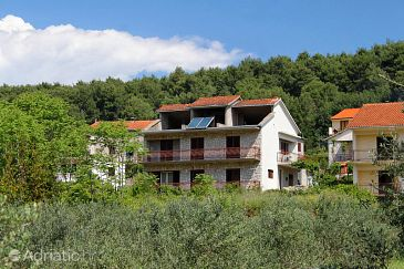 Property Jelsa (Hvar) - Accommodation 8789 - Apartments with pebble beach.