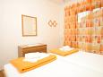 Hvar, Bedroom 1 u smještaju tipa apartment, WIFI.