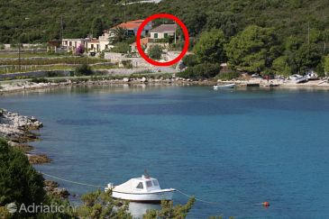 Property Uvala Parja (Vis) - Accommodation 8892 - Vacation Rentals near sea with rocky beach.