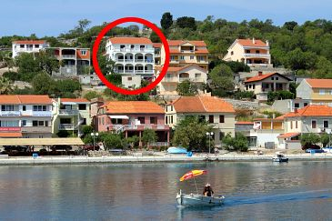 Property Sali (Dugi otok) - Accommodation 890 - Apartments near sea with pebble beach.