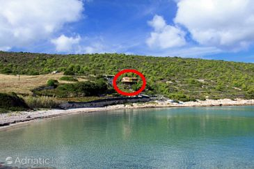 Property Uvala Zaglav (Vis) - Accommodation 8914 - Vacation Rentals near sea with sandy beach.