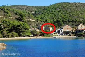 Property Biševo - Uvala Porat (Vis) - Accommodation 8927 - Apartments near sea with sandy beach.