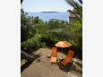Courtyard Milna (Vis) - Accommodation 8942 - Apartments near sea with rocky beach.