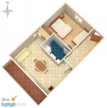 Apartment A-9035-i - Apartments Marina (Trogir) - 9035