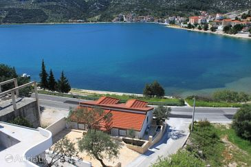 Property Marina (Trogir) - Accommodation 9035 - Apartments near sea with pebble beach.