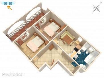 Apartment A-9037-a - Apartments Marina (Trogir) - 9037