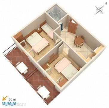 Apartment A-9038-a - Apartments and Rooms Makarska (Makarska) - 9038