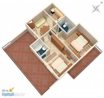 Apartment A-9038-b - Apartments and Rooms Makarska (Makarska) - 9038