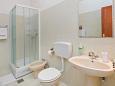 Mlini, Bathroom u smještaju tipa studio-apartment, WIFI.