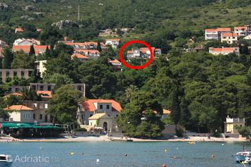 Property Mlini (Dubrovnik) - Accommodation 9043 - Apartments and Rooms with pebble beach.