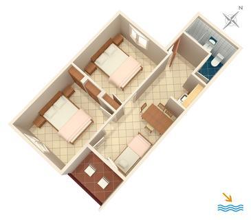 Apartment A-907-b - Apartments Zaglav (Dugi otok) - 907