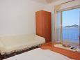 Dubrovnik, Bedroom 2 u smještaju tipa apartment, dostupna klima i WIFI.