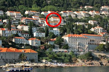 Property Dubrovnik (Dubrovnik) - Accommodation 9084 - Apartments with pebble beach.
