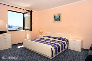 Zaton Mali, Bedroom u smještaju tipa room, dostupna klima i WIFI.