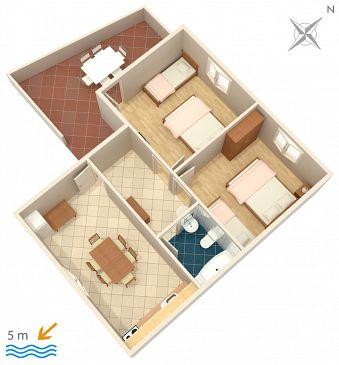 Apartment A-909-a - Apartments Savar (Dugi otok) - 909