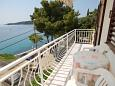 Balcony - Studio flat AS-9102-a - Apartments and Rooms Molunat (Dubrovnik) - 9102