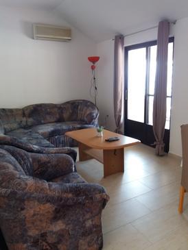 Brna, Living room u smještaju tipa apartment, dostupna klima i WIFI.
