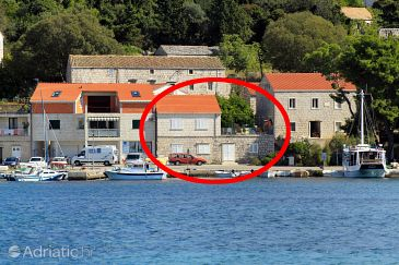 Property Lumbarda (Korčula) - Accommodation 9173 - Apartments near sea with pebble beach.
