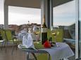 Grebaštica, Terrace u smještaju tipa studio-apartment, s pogledom na more i WIFI.
