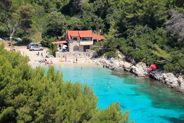 Property Zavalatica (Korčula) - Accommodation 9234 - Apartments near sea with pebble beach.