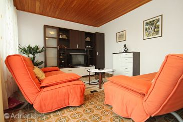 Brna, Living room 1 u smještaju tipa house, dopusteni kucni ljubimci i WIFI.