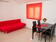 Novalja, Living room u smještaju tipa apartment, WIFI.