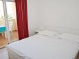 Novalja, Bedroom u smještaju tipa apartment, WIFI.