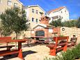 Courtyard Stara Novalja (Pag) - Accommodation 9357 - Apartments near sea with sandy beach.