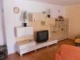 Gajac, Living room u smještaju tipa apartment, dostupna klima, dopusteni kucni ljubimci i WIFI.