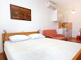 Bedroom - Studio flat AS-9368-c - Apartments Stara Novalja (Pag) - 9368