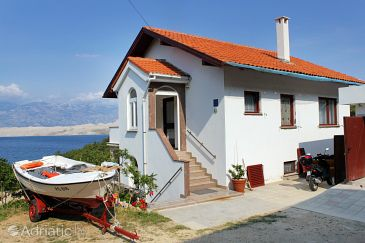 Property Bošana (Pag) - Accommodation 9374 - Apartments with pebble beach.