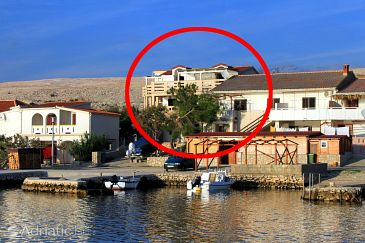 Property Kustići (Pag) - Accommodation 9381 - Apartments near sea.