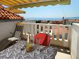 Terrace - view - Studio flat AS-9404-a - Apartments Promajna (Makarska) - 9404