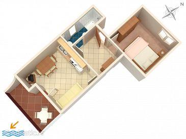 Apartment A-941-d - Apartments Seget Vranjica (Trogir) - 941