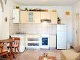 Mavarštica, Kitchen u smještaju tipa studio-apartment, WIFI.