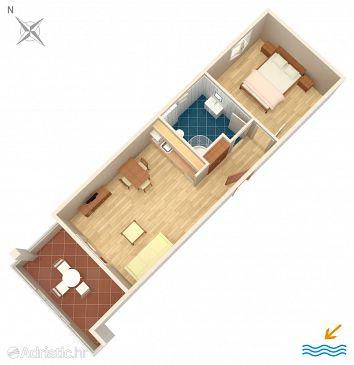 Apartment A-9437-f - Apartments Duće (Omiš) - 9437