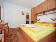 Dubrovnik, Bedroom u smještaju tipa studio-apartment, dopusteni kucni ljubimci.