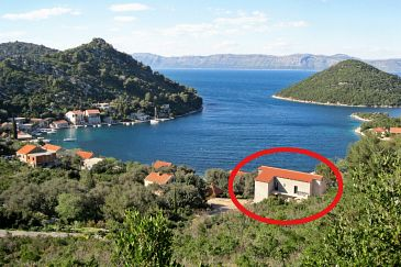 Property Prožurska Luka (Mljet) - Accommodation 9446 - Apartments near sea.