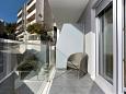 Balcony - Studio flat AS-9464-a - Apartments and Rooms Podstrana (Split) - 9464