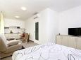 Bedroom - Studio flat AS-9464-c - Apartments and Rooms Podstrana (Split) - 9464