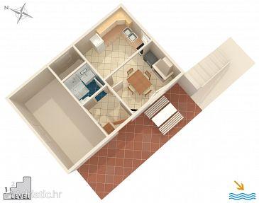 House K-9471 - Vacation Rentals Vela Proversa (Kornati - Katina) - 9471