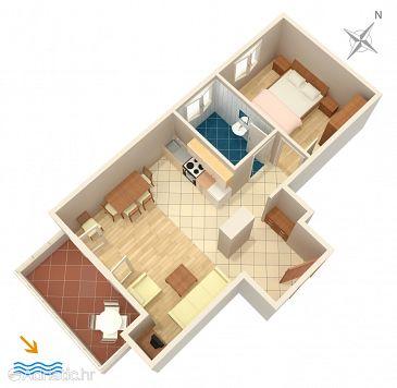 Apartment A-965-b - Apartments Grebaštica (Šibenik) - 965