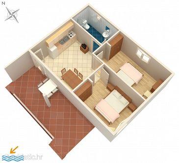 Apartment A-9652-c - Apartments Rabac (Labin) - 9652