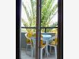 Balcony - Studio flat AS-9654-b - Apartments Drvenik Donja vala (Makarska) - 9654