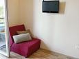 Living room - Studio flat AS-9654-b - Apartments Drvenik Donja vala (Makarska) - 9654